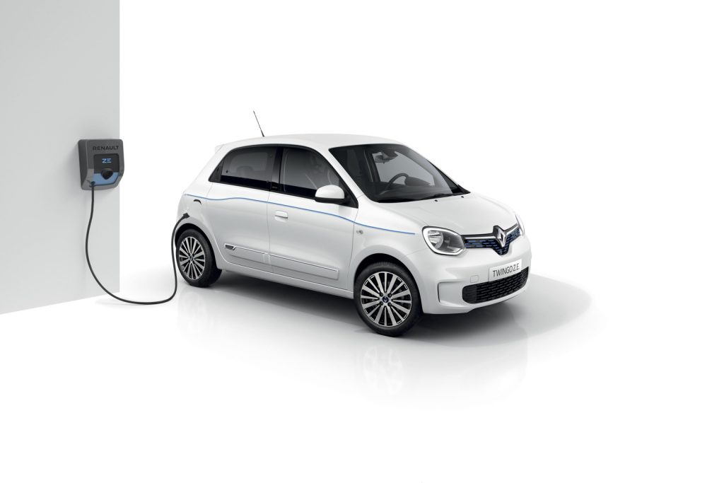 Nuova Renault Twingo Electric