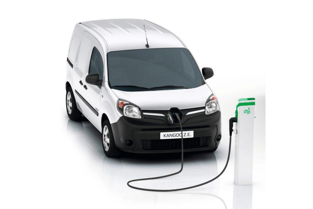 Nuovo Renault Kangoo ZE Elettrico
