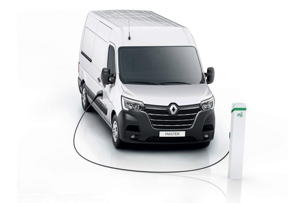 Nuovo Renault Master ZE Elettrico