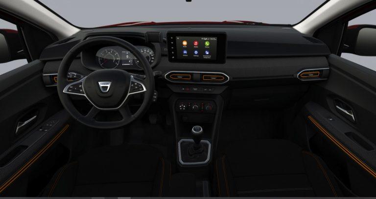 Interni Nuova Dacia Sandero Stepway Comfort 2021