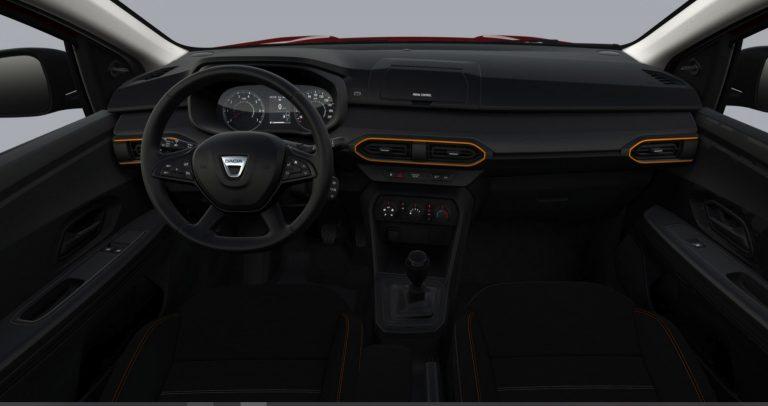 Interni Nuova Dacia Sandero Stepway Essential 2021
