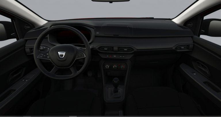 Interni Nuova Dacia Sandero Streetway Access 2021
