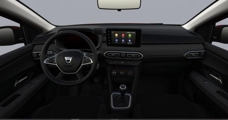 Interni Nuova Dacia Sandero Streetway Comfort 2021