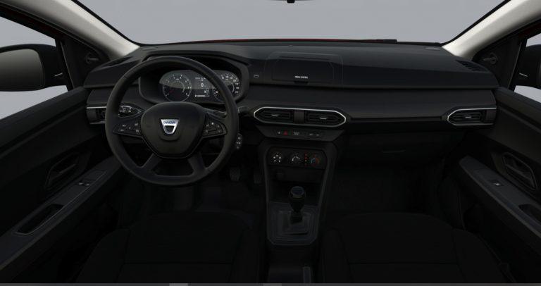 Interni Nuova Dacia Sandero Streetway Essential 2021