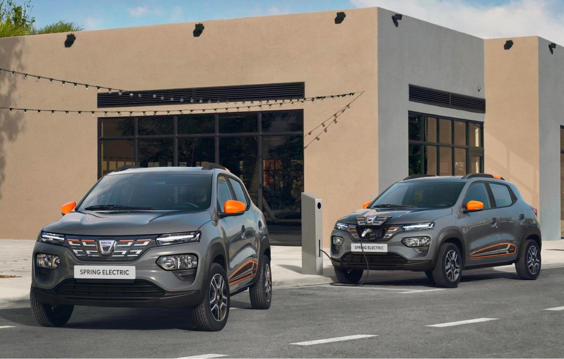 La Nuova Dacia elettrica Spring