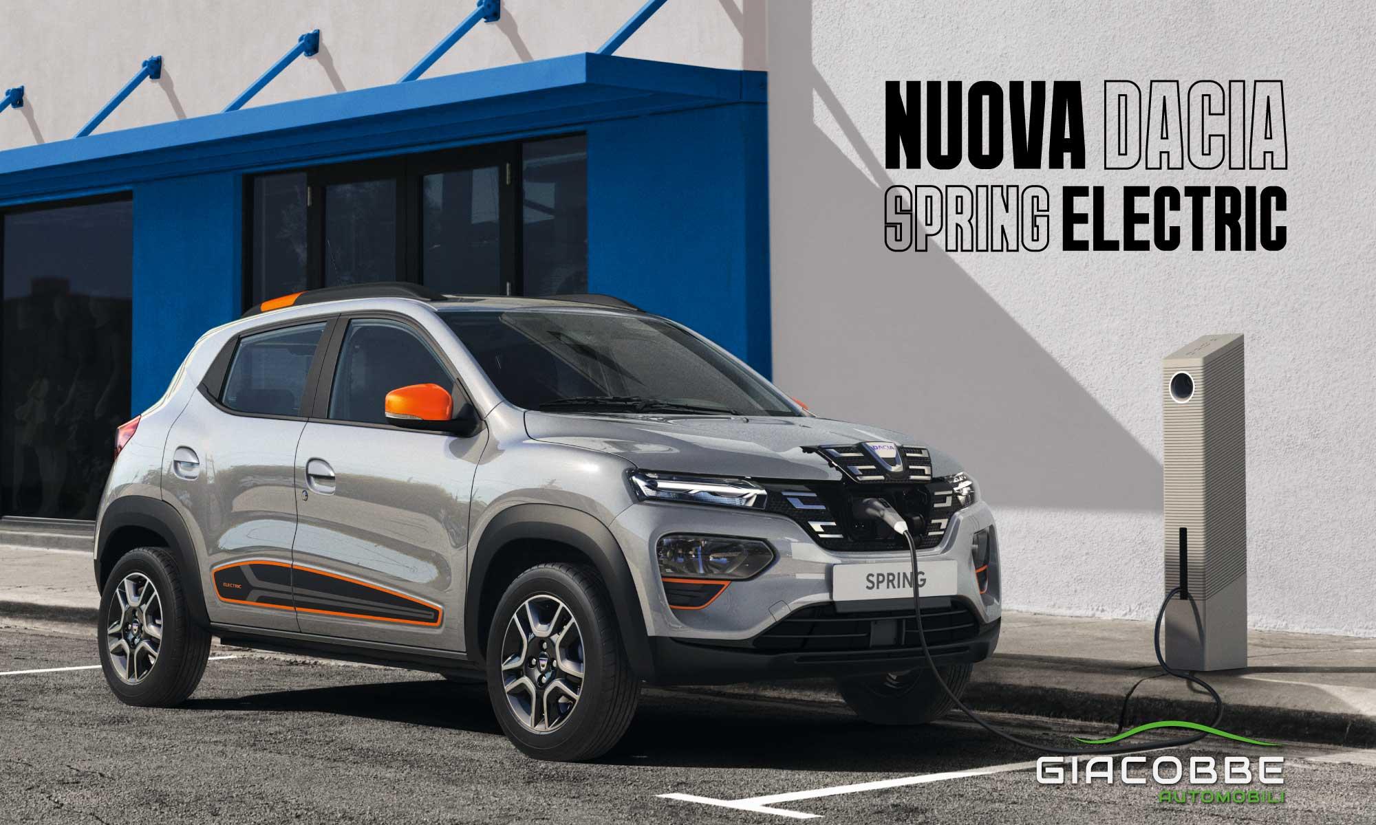 Nuova Dacia Spring Electric